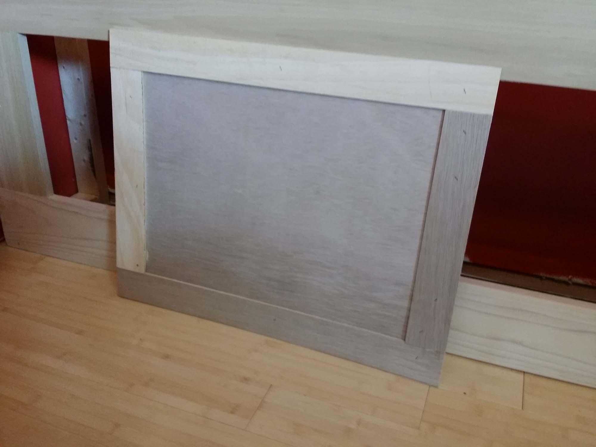 Diy Cheap Built In Library Cabinets Bookshelves 3 Finishing