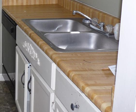 Old counter-tops